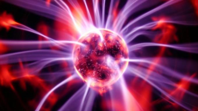 Tesla purple plates energy