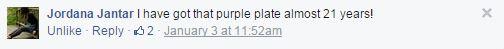 Jordana - Tesla purple plate experience