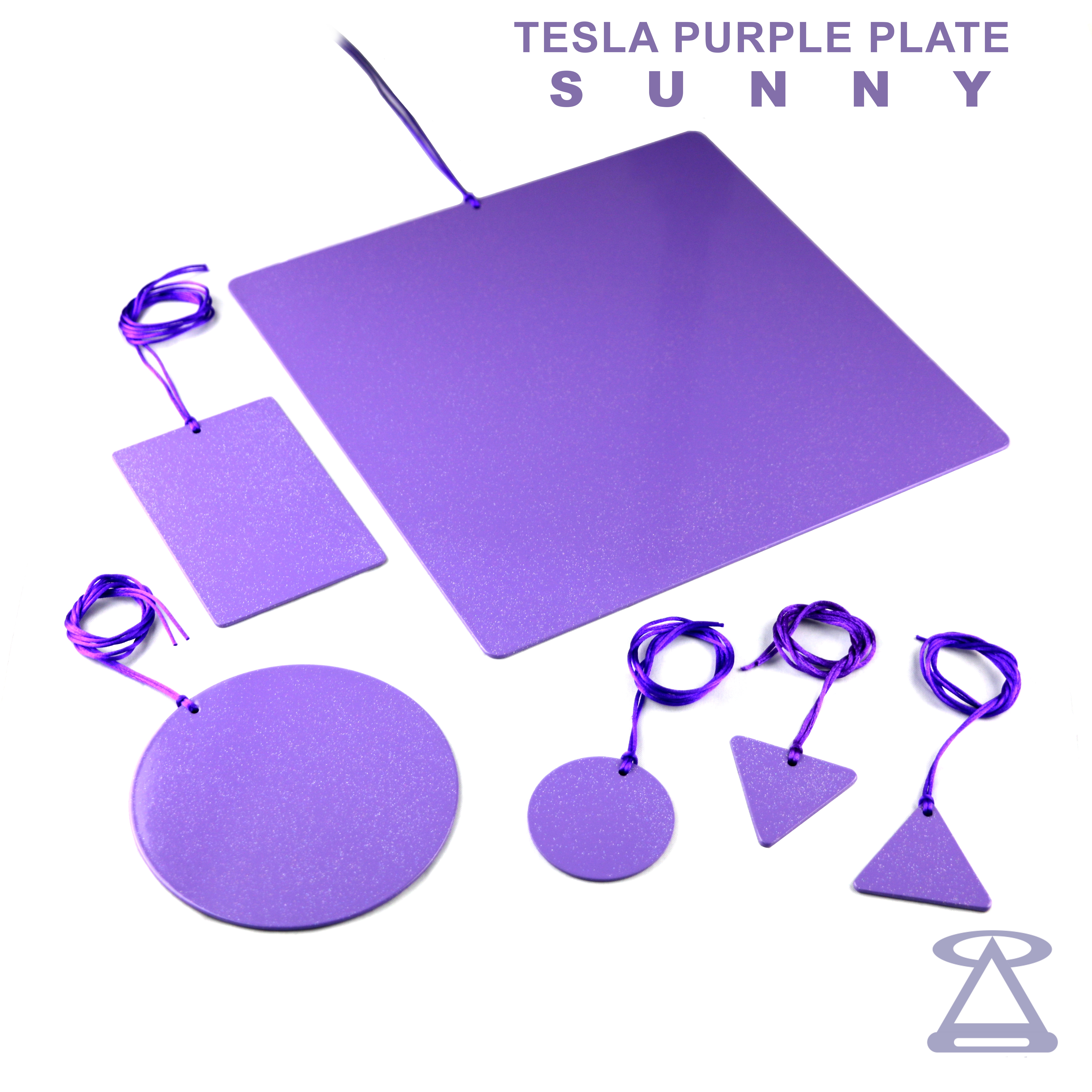 All our Tesla Purple Plates